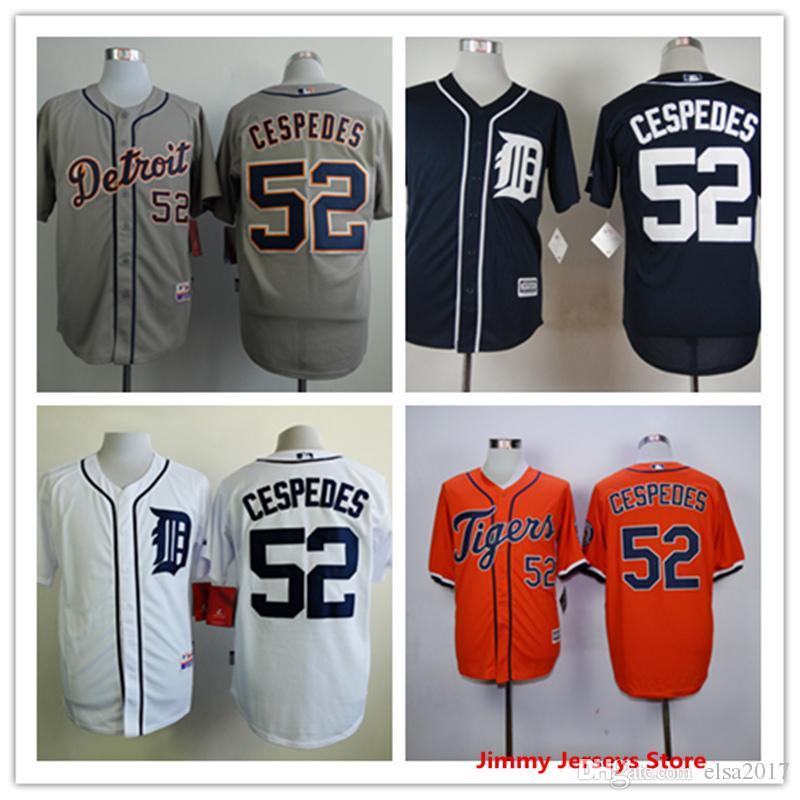 d3fa30dd7 ... wholesale mlb baseball jersey yoenis cespedes jersey hot sale mens 52  detroit tigers baseball jerseys good