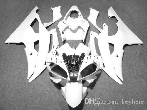 Injection molding hot sale fairing kit for Yamaha YZF R6 08 09 10 11 12-15 white motorcycle fairings set YZFR6 2008-2015 YT17