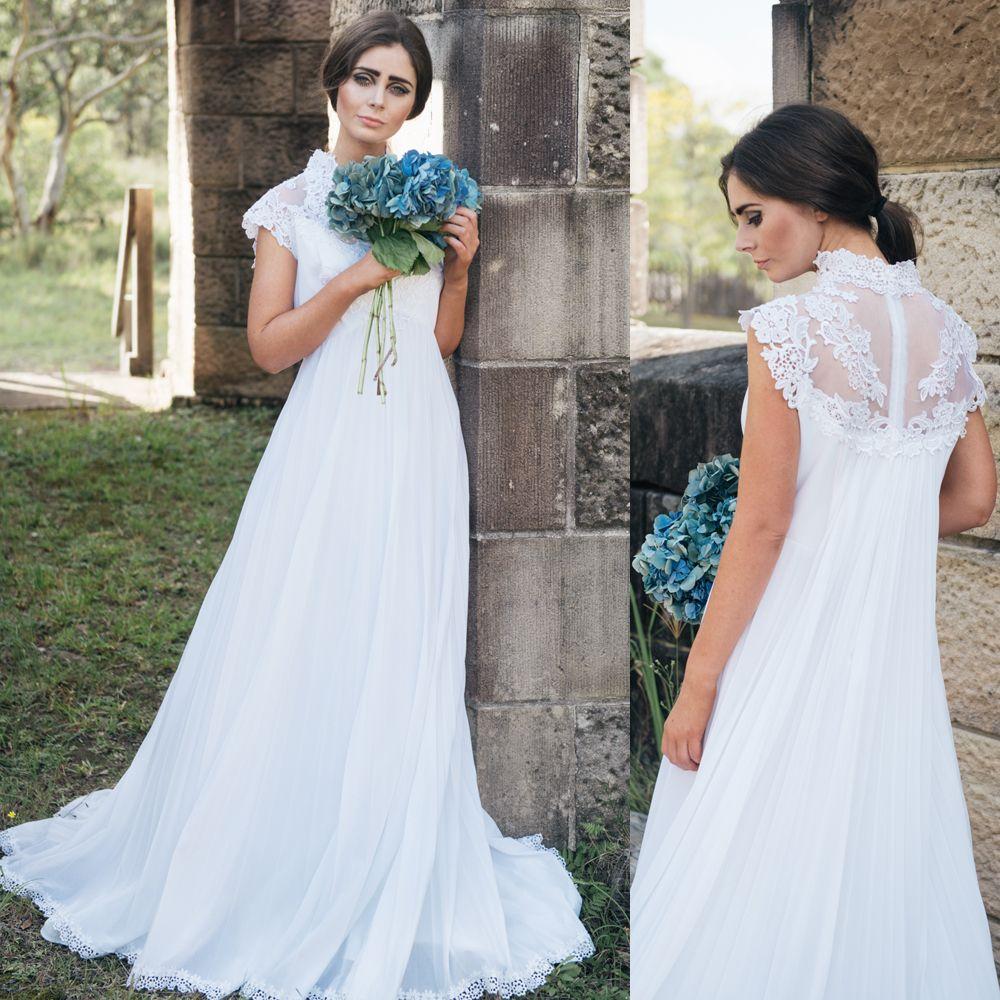 Korean High Waist Thin Pregnant Women Size Custom Wedding Dresses ...