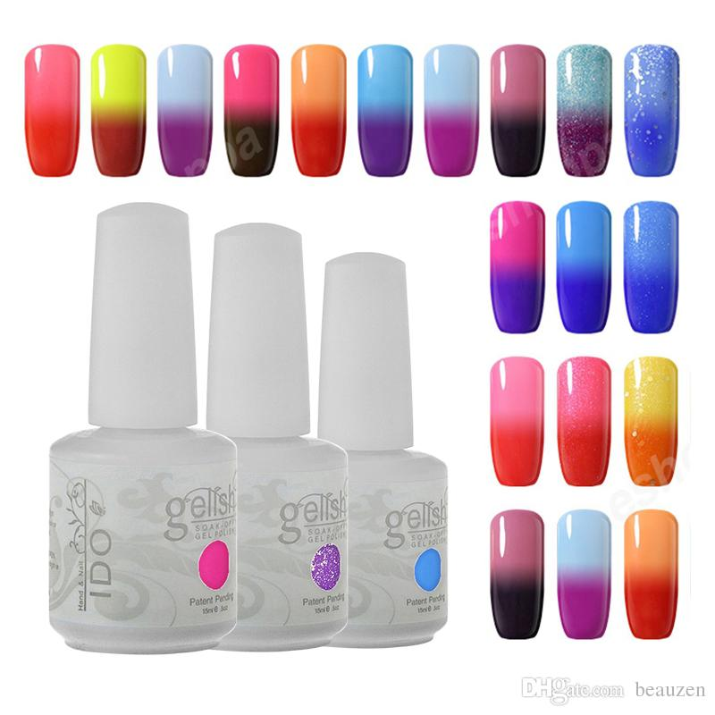 Temperature Gel Ido Gelish Soak Off Uv Gel Color Changing Gel Nail ...