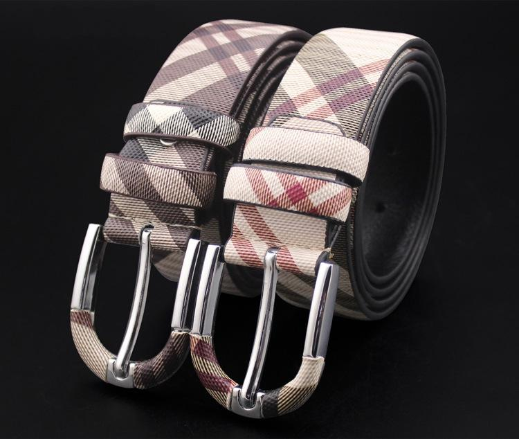 الرجال حزام جلد طبيعي مصمم أحزمة الرجال عالية الجودة الفاخرة حزام الذكور أحزمة للرجال الأزياء دبوس مشبك لالجينز