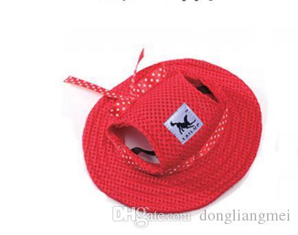 şapka köpekler hayvan şapka P97 kap Köpekler factoryprice Sevimli Prenses Mesh Stil Pet Köpekler Cap Free Gemi köpek giyim evcil hayvan bakım ürünleri köpek aksesuarları