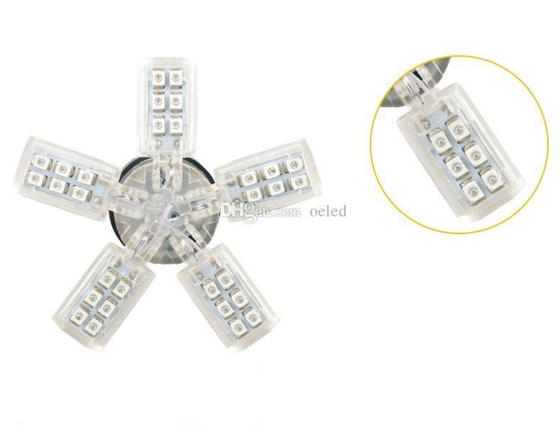 Bianco Led 1156 1157 40SMD 3528 Chip Led Spider Light 5 Claws Auto Car Reverse Tail Singal Brake Lampadine Lampade DC 12V