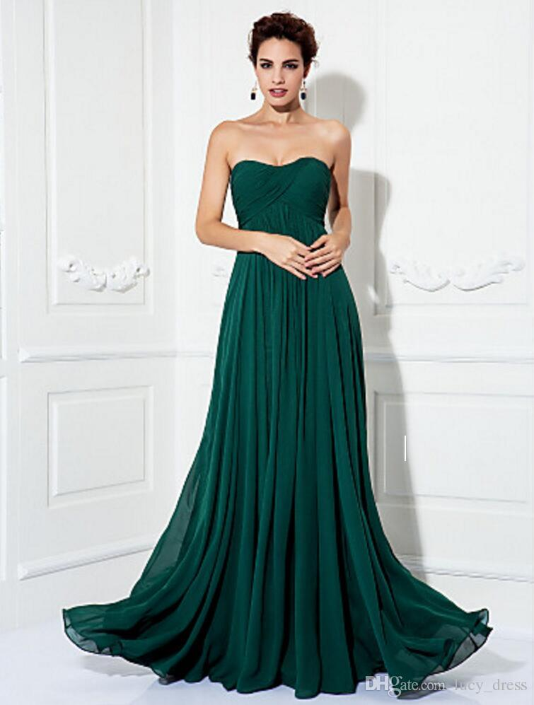Simple Formal Evening Military Ball Dress Open Back A Line Princess Strapless Sweep Brush Train Chiffon With Draping Criss Evening Dresses Evening Dresses Long Evening Dresses Montreal From Lucy Dress 63 02 Dhgate Com