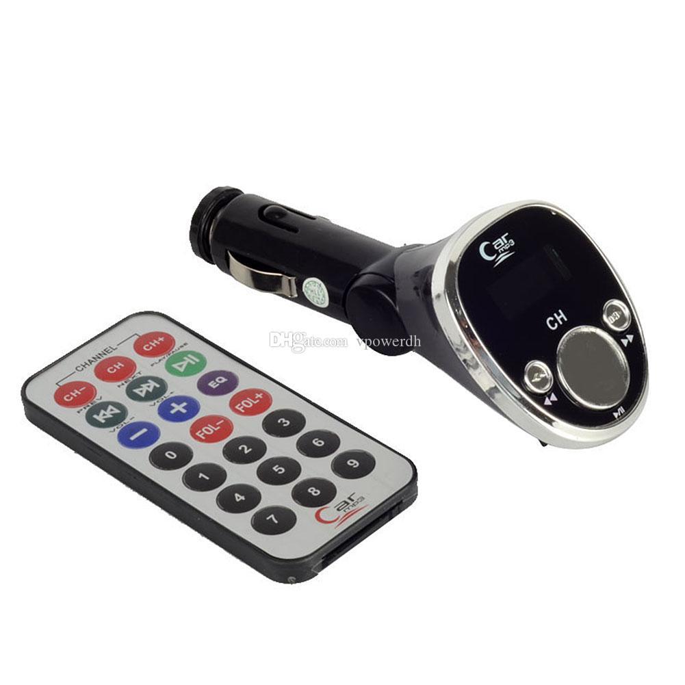 Автомобиль 12V MP3-плеер 5m беспроводной FM передачи дистанционного M00084 VPRD