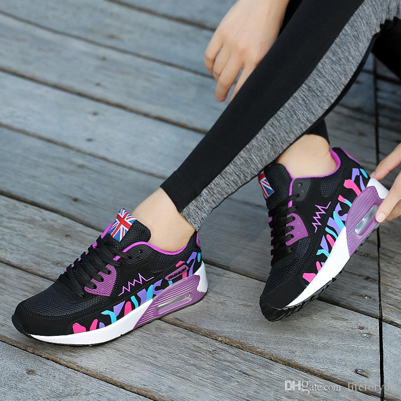 f66242360 Compre Zapatos Para Damas Zapatos De Mujer Zapatos Deportivos Zapatos Para  Caminar Zapatos De Moda Zapatos Atléticos Zapatos Casuales A $13.71 Del ...