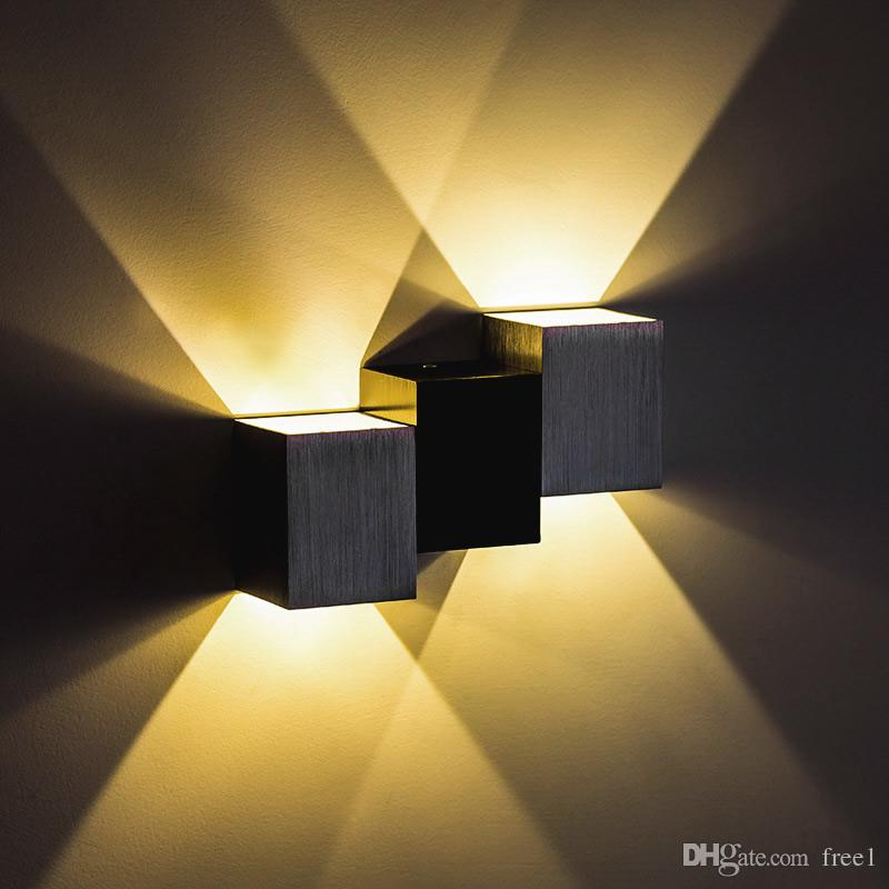 2W 6W Up and down led wall light led spot light High power ceiling indoor bedroom modern simple decoration CE UL