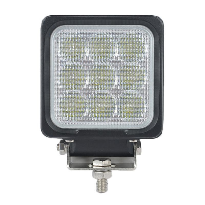 "DHL 4"" 27W CREE Chips LED Driving Work Light Square 9LED*3W Offroad SUV ATV 4WD 4x4 Spot Pencil / Flood Spread Beam 2700LM Super Bright"
