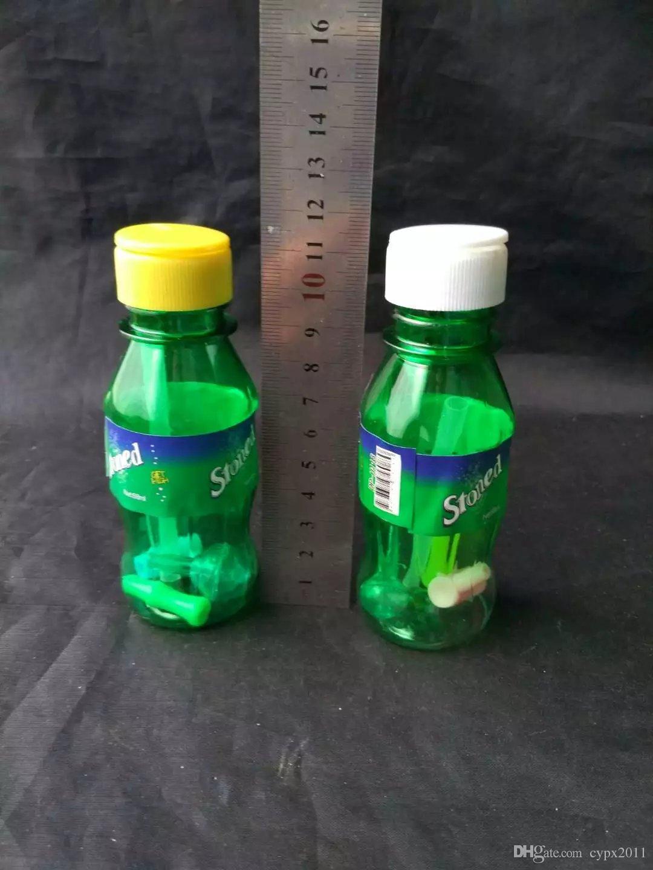 Sprite nargile, su boruları cam bong hooakahs petrol kuleleri cam bong için iki fonksiyon