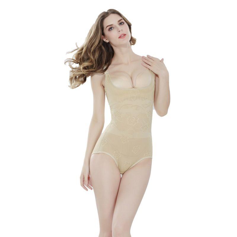 1eaa0f27ee2a7 Wholesale- High Quality Women s Control Seamless Underwear Bodysuit ...