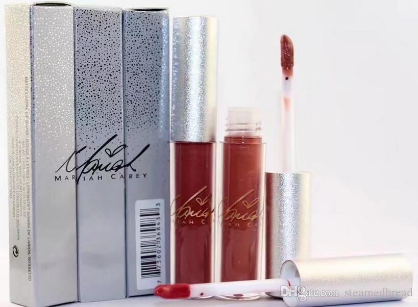 FRETE GRÁTIS boa qualidade Menor Best-Seller boa venda New Limited Edition Holiday RIAH CAREY batom líquido lipgloss dom gratuito