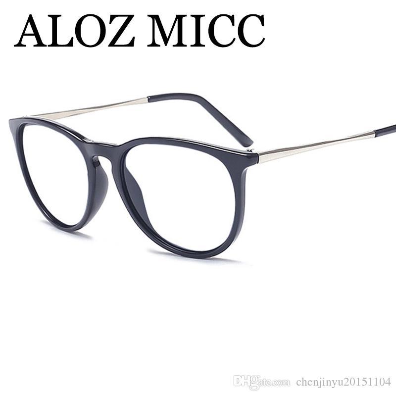 0a8f1dff357 2019 ALOZ MICC High Quality Women Optical Eyeglasses Frame Men Eyeglasses  Frames Eyewear Square Classic Frame Oulos De Sol A425 From  Chenjinyu20151104