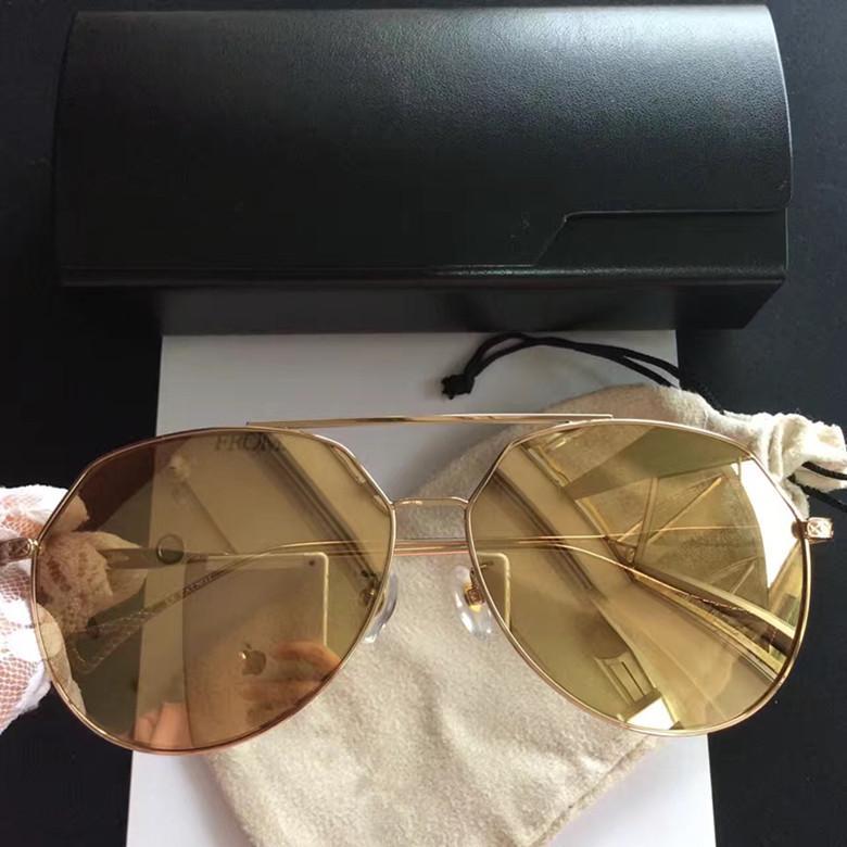 fb8d7089b0b Popular Fashion Style Sunglasses Mental Sunglasses 24K Gold-plated ...
