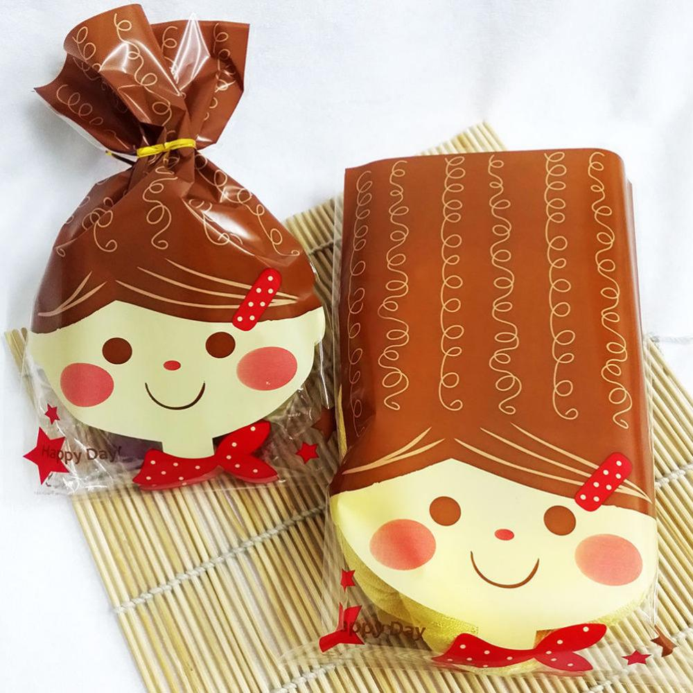 Christmas Gift Bag Cartoon Food Grade Party Cake Biscuit Cookies ...