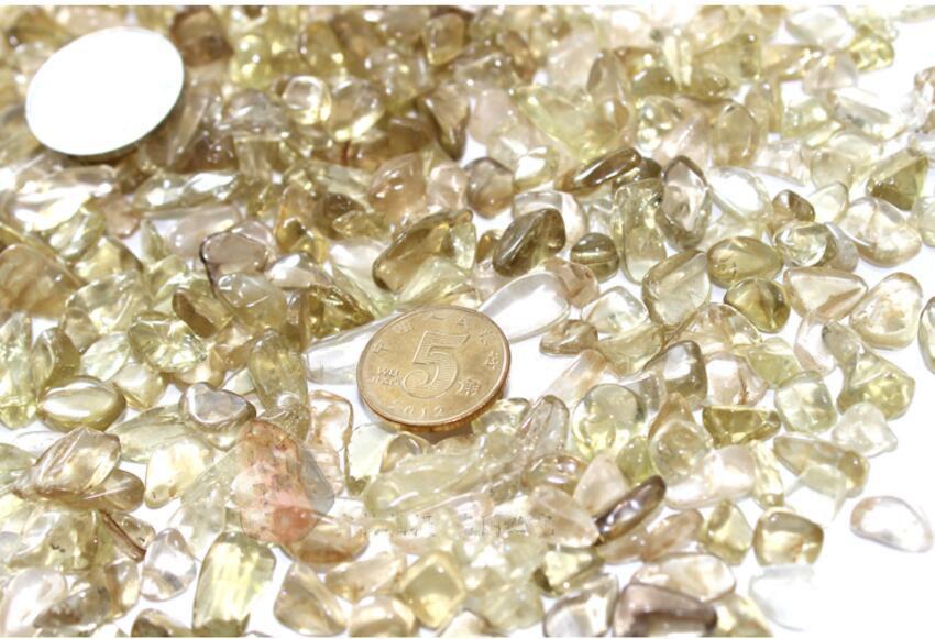 Cristal de citrine naturelle à la mode en pierre 100g = 1Sac peut choisir des objets d'art et d'artisanat pour la maison DHL