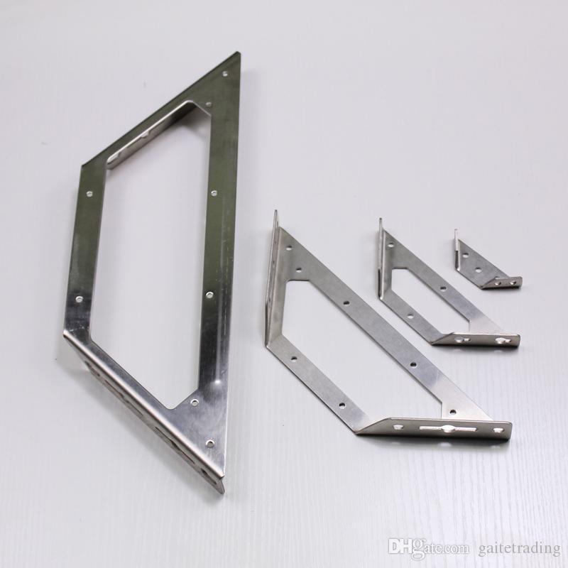 Cintre de style L montage sur support de cloison de coin support de matériel de triangle Support de tablette Support de chicane