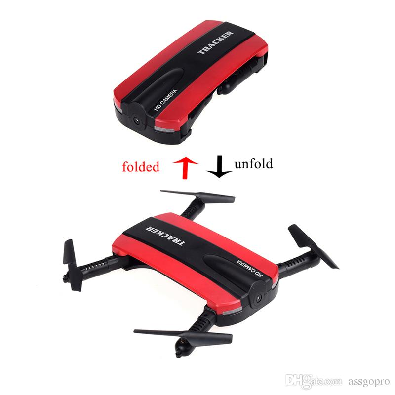 NEW Mini Selfie Camera Drone Foldable RC Drone With Wifi FPV Camera Altitude Hold Headless Mode RC Quadcopter Toys With Retail Package