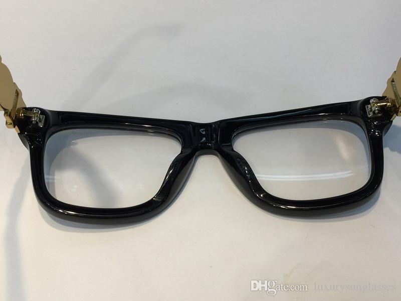 Luxury Designer Glasses Prescription Eyewear 426 Eyeglasses Vintage Frame Men Fashion Eyeglasses With Original Case Retro Gold Plated