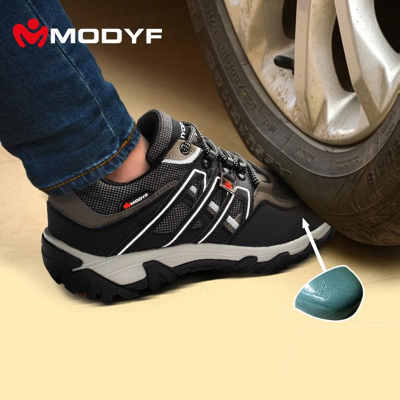 Wholesale Modyf Men Steel Toe Cap Work Safety Shoes