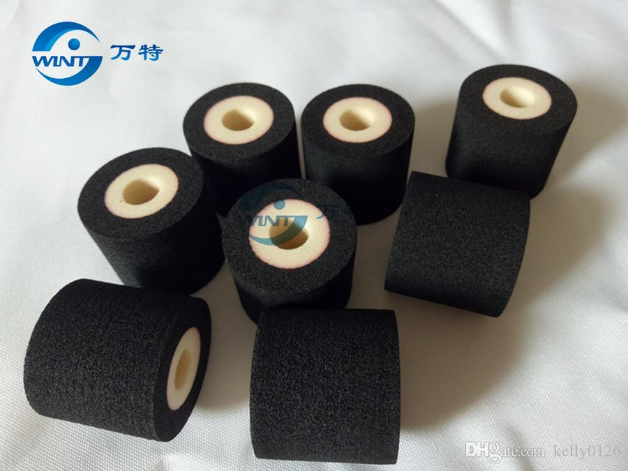 36 * 40mm energiesparende heiße Druckfarben-Rolle für 380f Tinten-Kodierungs-Maschine, zum des Verfallsdatums / der Chargen-Nr. Rot, schwarz, blau und weiß zu drucken