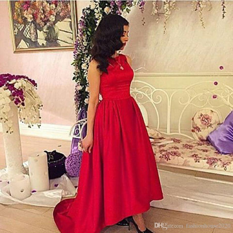 Burgundy satin high low bridesmaid dresses 2017 long train cheap see larger image ombrellifo Image collections