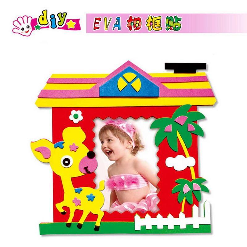 2018 Wholesale Baby Kids Diy Puzzles Toy Eva Foam Sticker Self ...