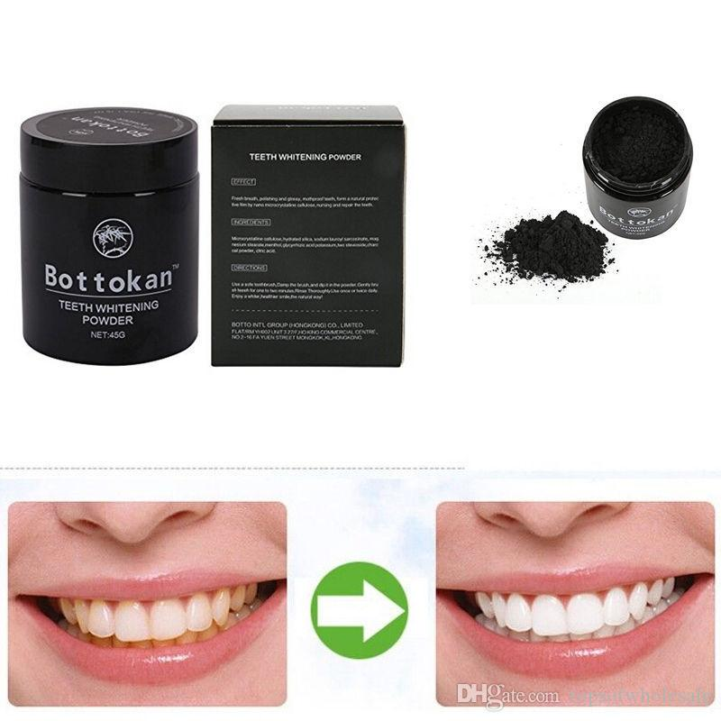natural charcoal toothpaste Teeth Whitening Powder Activated Charcoal Black Powder Decontamination Tooth coffee Stain Bamboo smoking Stains