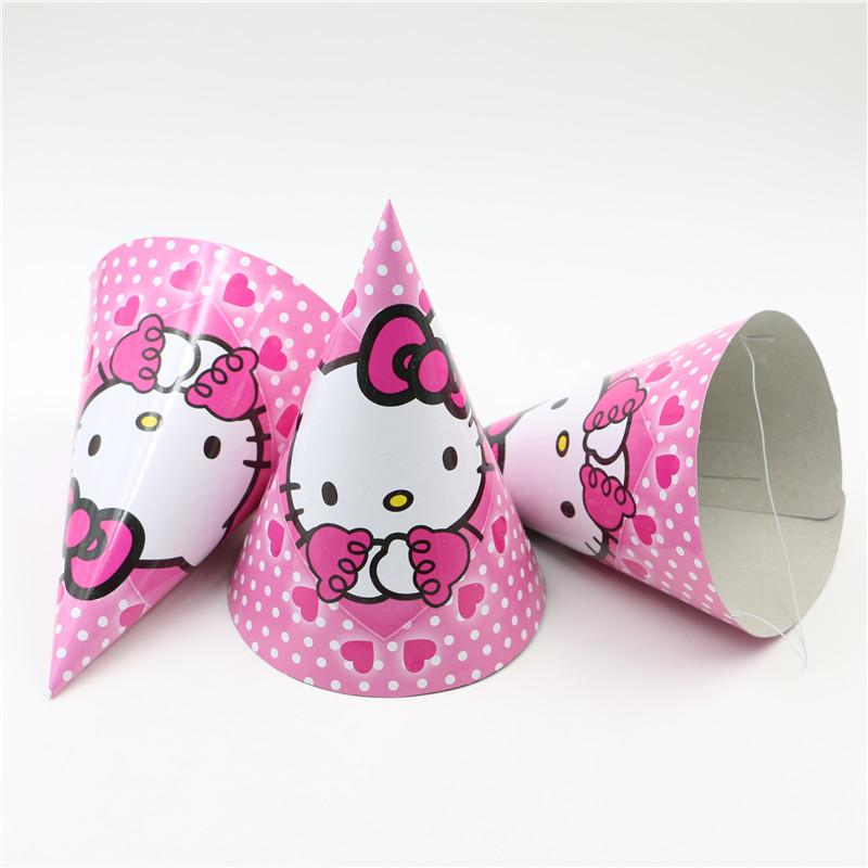 Wholesale Birthday Party Cap Hello Kitty Theme Birthday Party