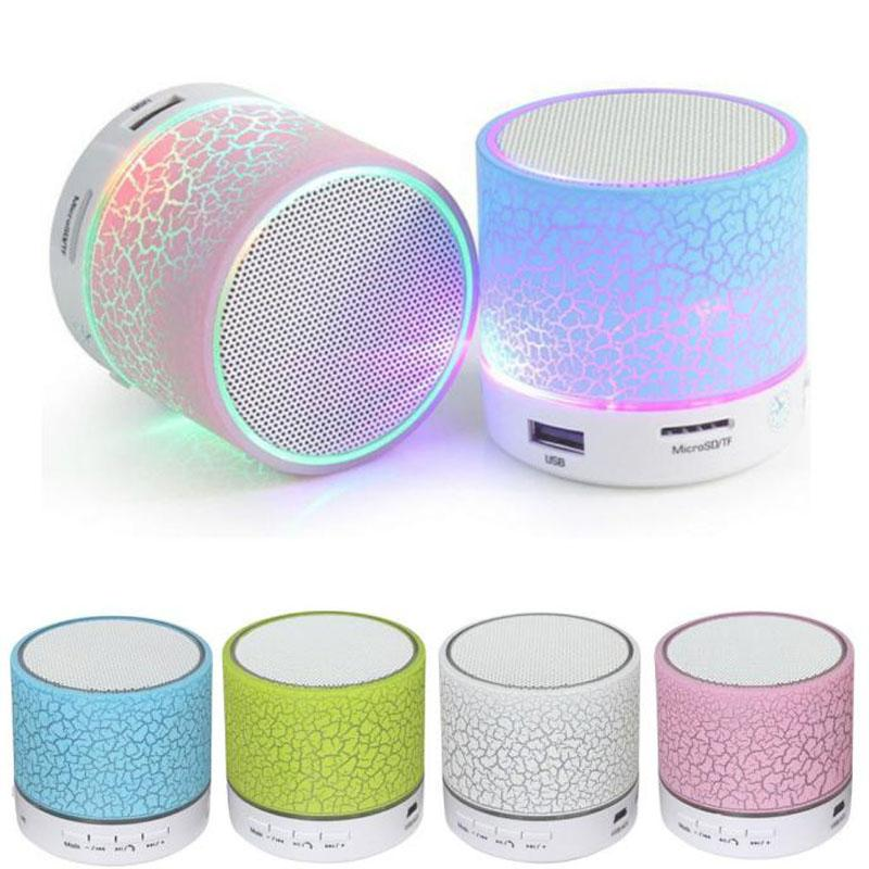 Wholesale- Hot Portable Mini Wireless Speaker Bluetooth Ultra Bass Handsfree Speaker For Outdoor Sport With HiFi Stereo Audio Music Quality