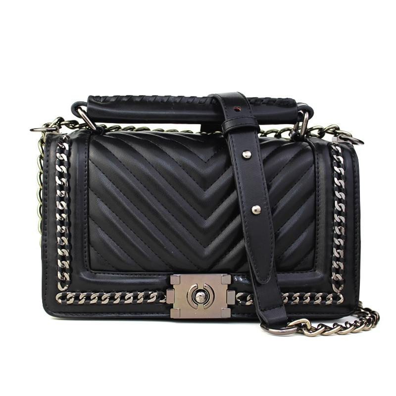 b64abde41fa4 Wholesale New Famous Designer Brand Shanel Bags Women Leather Handbag High  Quality Crossbody Bag For Women Messenger Bag Sac A Main Bols Wholesale  Handbags ...