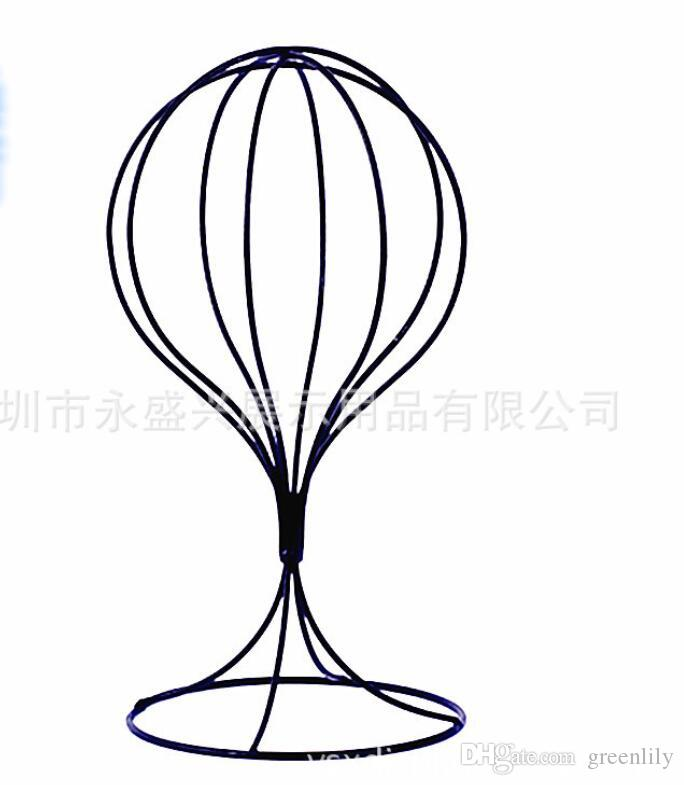 Metal Mesh Head Mannequin Art Hat Stands ForHat Rack Store Wig Awesome Art Display Stands Racks