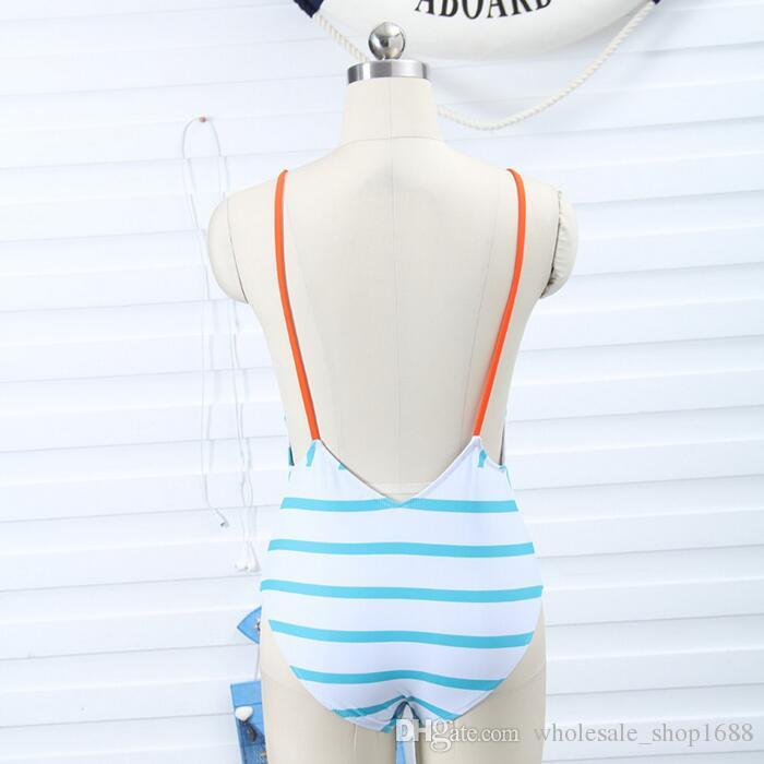 686049b987276 2019 Wholesale Bikinis Swimsuit Women 2017 One Piece Fashion Striped  Swimwear Hot Girls Xxx Bikini Photo From Wholesale shop1688