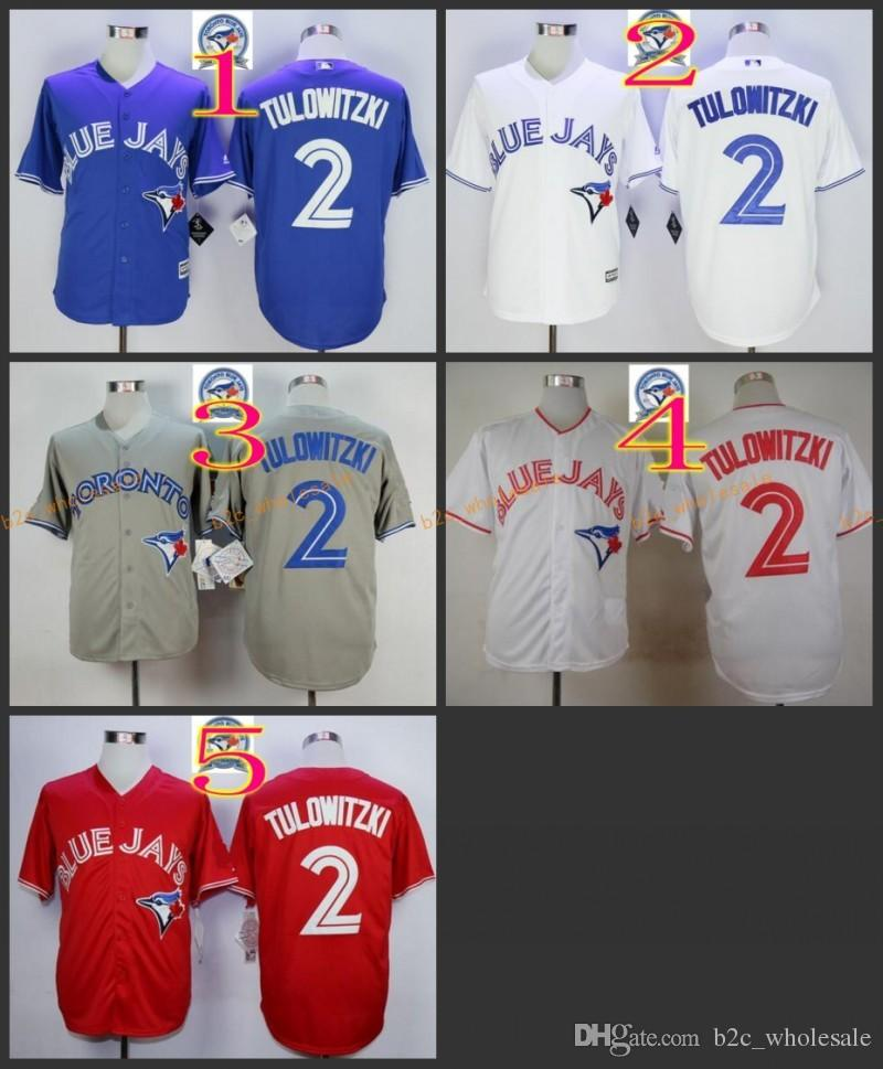 c7ea7ea501c ... Jersey 2017 2017 Cheap Majestic Official Cool Base Mlb Stitched 40th  Season Toronto Blue Jays 2 Troy ...