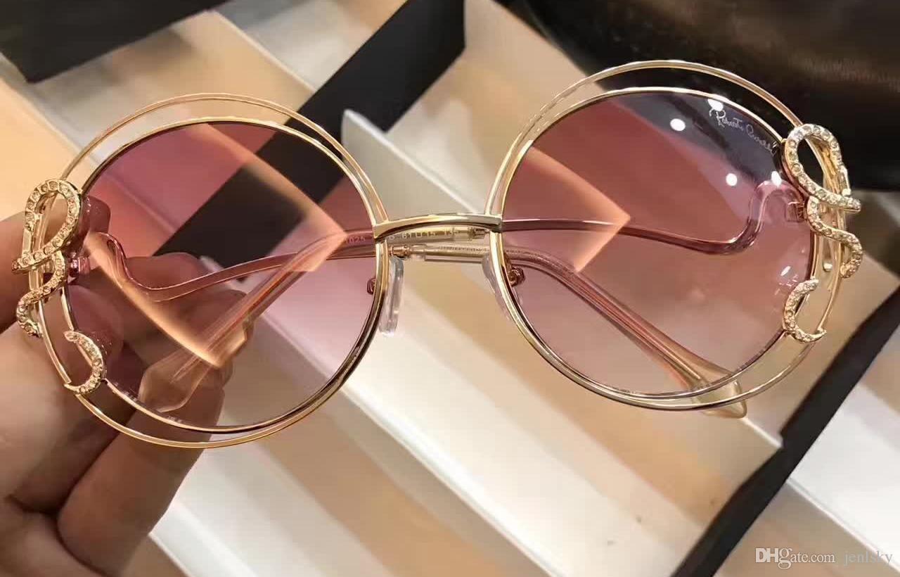 51253ea58a Compre 2017 Mujeres Roberto Gafas De Sol RC1024 CARDUCCI Bronce Oro Rosa  Sombra Gafas De Sol Diseñador A Estrenar Con La Caja A $52.8 Del Jenlsky    DHgate.
