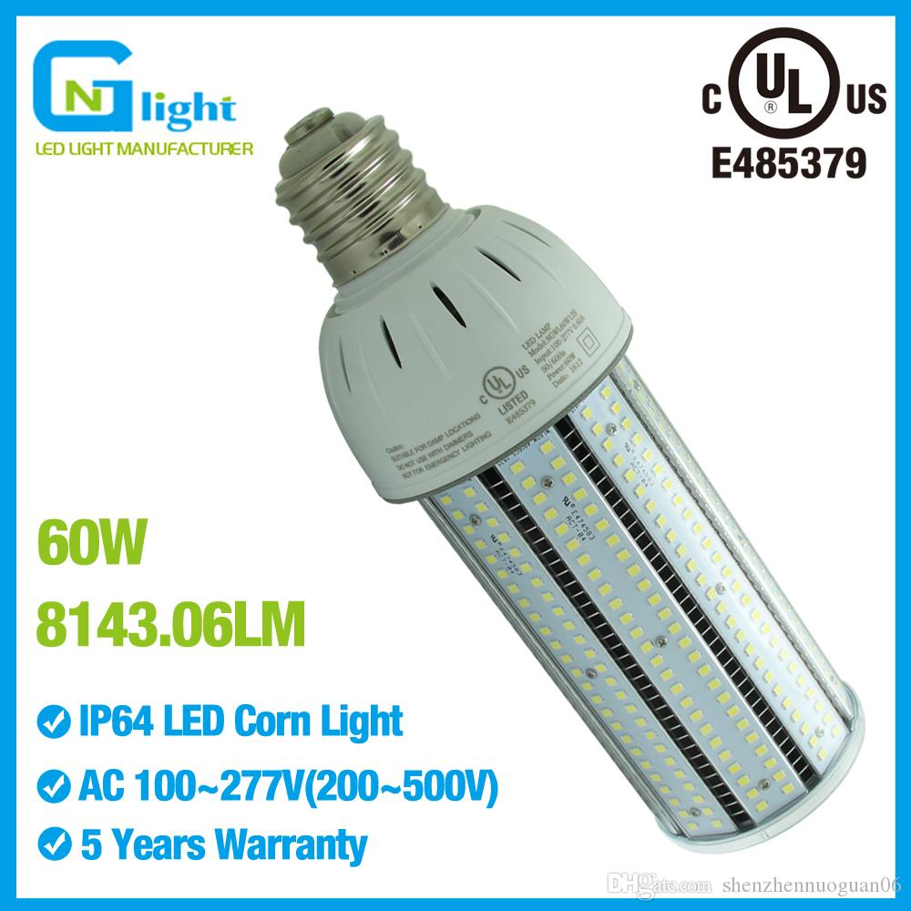 60w Post Top Light Bulb Replacement High Lumens Led Canopy Lamp In Gas Station Parking Enclosed Fixture Dimmable Bulbs Lights From