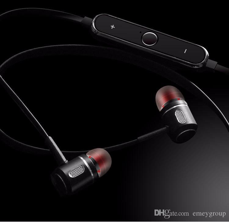 Sweatproof Bluetooth-гарнитура S8 беспроводные наушники спортивные металлические головные уборы с микрофоном для iPhone 7 6 Samsung xiaomi mi mix huawei смартфон