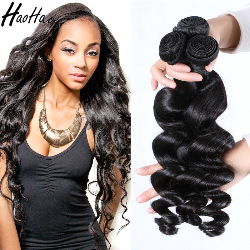 8 30 Inch Remy Hair Extensions Human Hair 3 Bundles 270 300g Loose