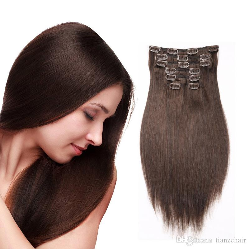 Womens fashion brown 22clips 100 peruvian remy clip in human womens fashion brown 22clips 100 peruvian remy clip in human hair extensions wholesale price 24 inch hair extensions 20 inch hair extensions from pmusecretfo Images