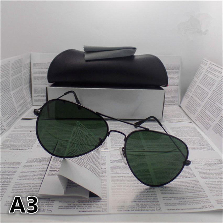 Polarized Sunglasses Brand Designer Fashion Sunglasses for women and men UV400 Green lens Vintage Sport Sun glasses With Original box