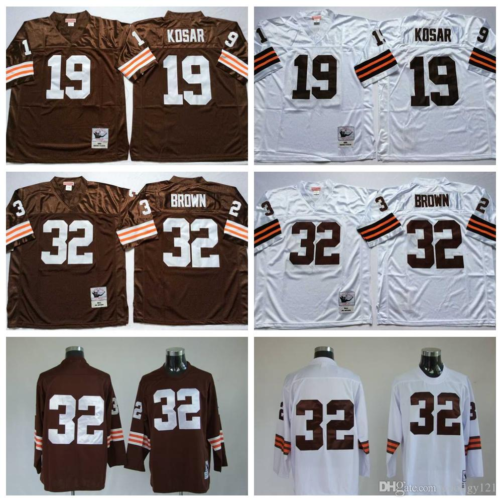 purchase cheap 7d1c7 dc767 discount limited bernie kosar jersey cleveland browns 19 ...