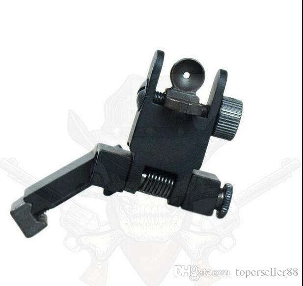 BUIS Backup Front Rear Flip Up 45 Degree Offset Micro Rapid Transition Iron Sight Hunting Accessories