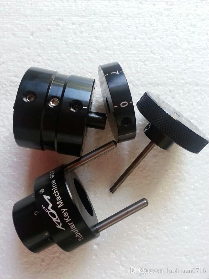 High quality KLOM portable tubular lock key cutting machine key cutter locksmith tools lock pick set 7.5mm & 7.8mm