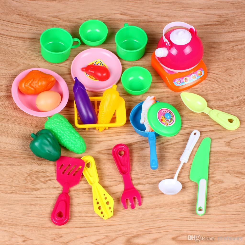 Großhandel Küche Spielzeug Kochen Simulation Modell Pretend Play ...