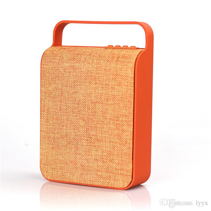 Super Bass New Listing Canvas Bluetooth Speaker HS-345 Portable High Power Bluetooth Speaker Card Mini Audio Subwoofer