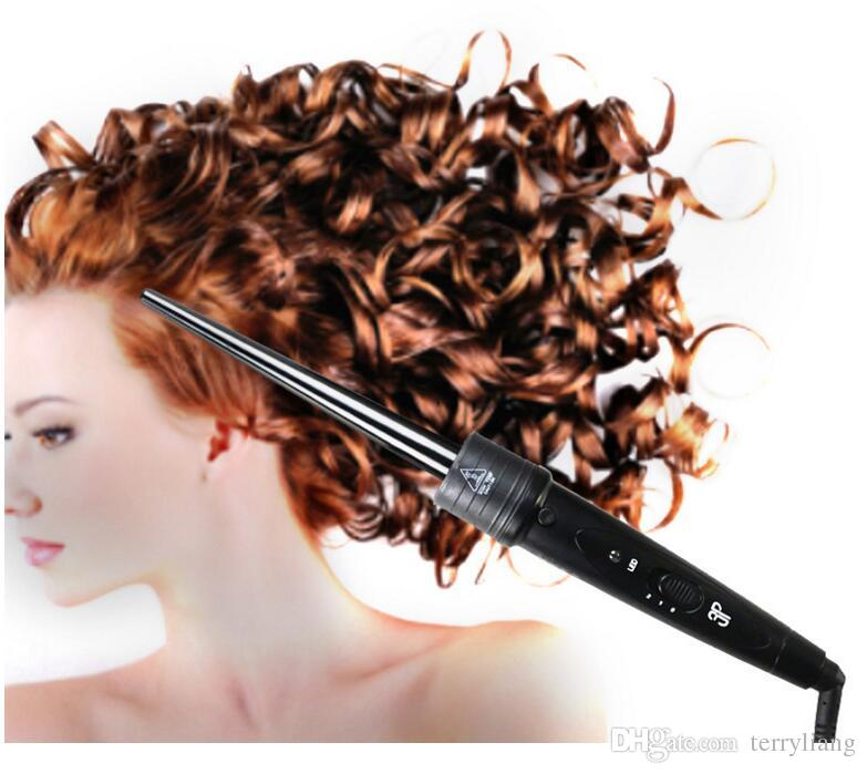 3 in 1 interchangeable hair curler wand hot air brush hair straightener brush set ceramic curling roller styling tongs spiral tool