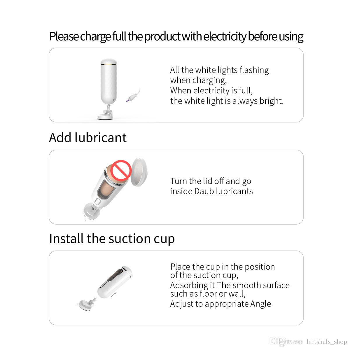 7-frequency variable frequency Male Masturbator Cup USB Rechargeable Masturbation Sex Products Adult Sex Toys for Man