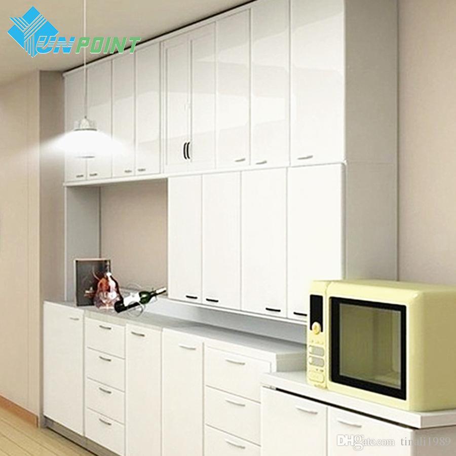 Acquista 60cm * 3m Cucina Bagno Solid Pellicola Decorativa Fai Da Te ...