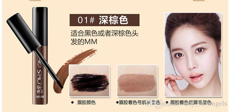 NEUE Augenbrauen Tattoo Tönung Wasserdichte langlebige Peel Off Dye Augenbrauen Gel Creme Mascara Bilden Stift Korean Kosmetik NOVO Augen Make-up 1 stücke