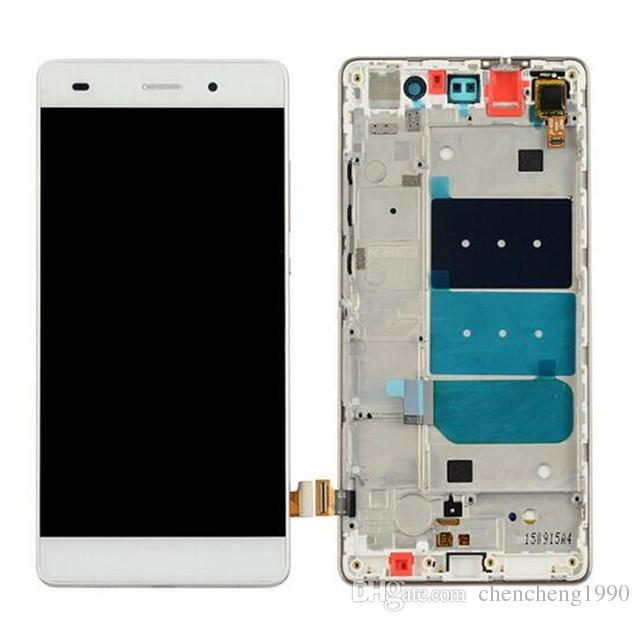 For Huawei Ascend P8 Lite Full New LCD Touch Screen Digitizer With Frame Now