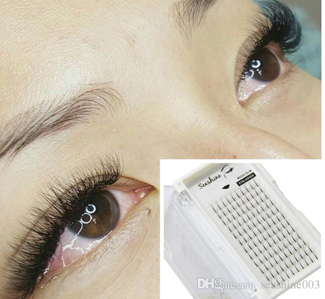 Seashine 5d Premade Fans False Makeup Eyelash Extensions 12mm 007